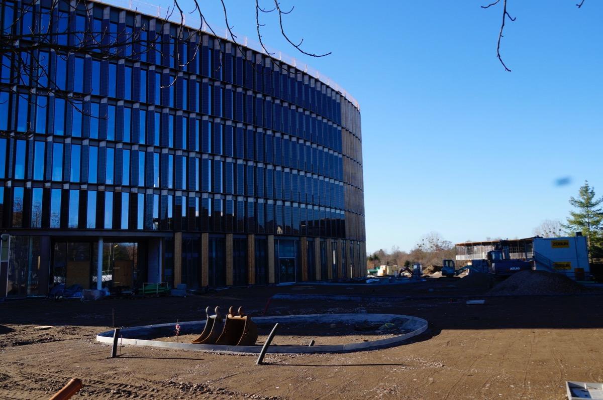 Neues Verwaltungszentrum im Stühlinger (Bild: Timothy Simms)