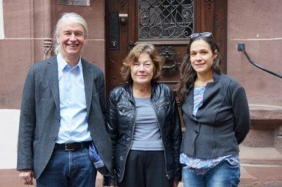 Der neue Fraktionsvorstand: Gerhard Frey, Fraktionsvorsitzende Maria Viethen, Nadyne Saint-Cast (Bild: Timothy Simms)