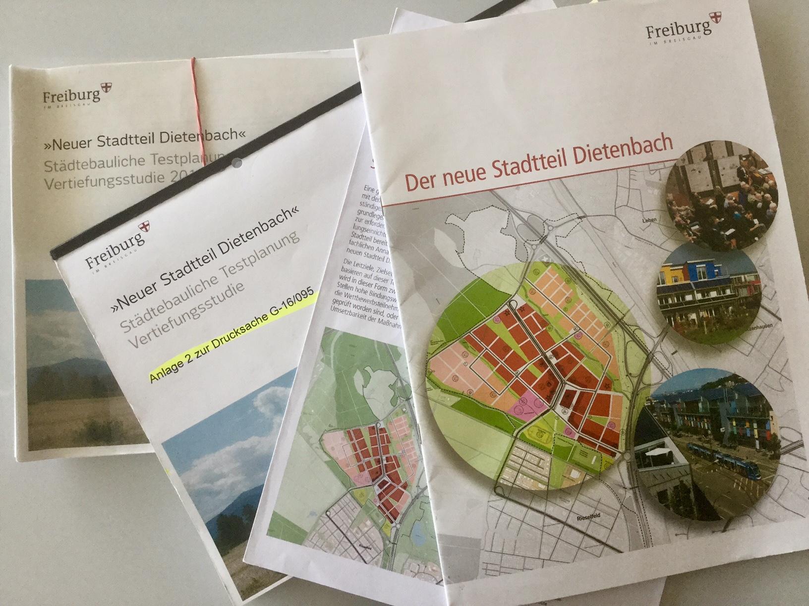 Neuer Stadtteil Dietenbach – Quote für geförderten Wohnungsbau