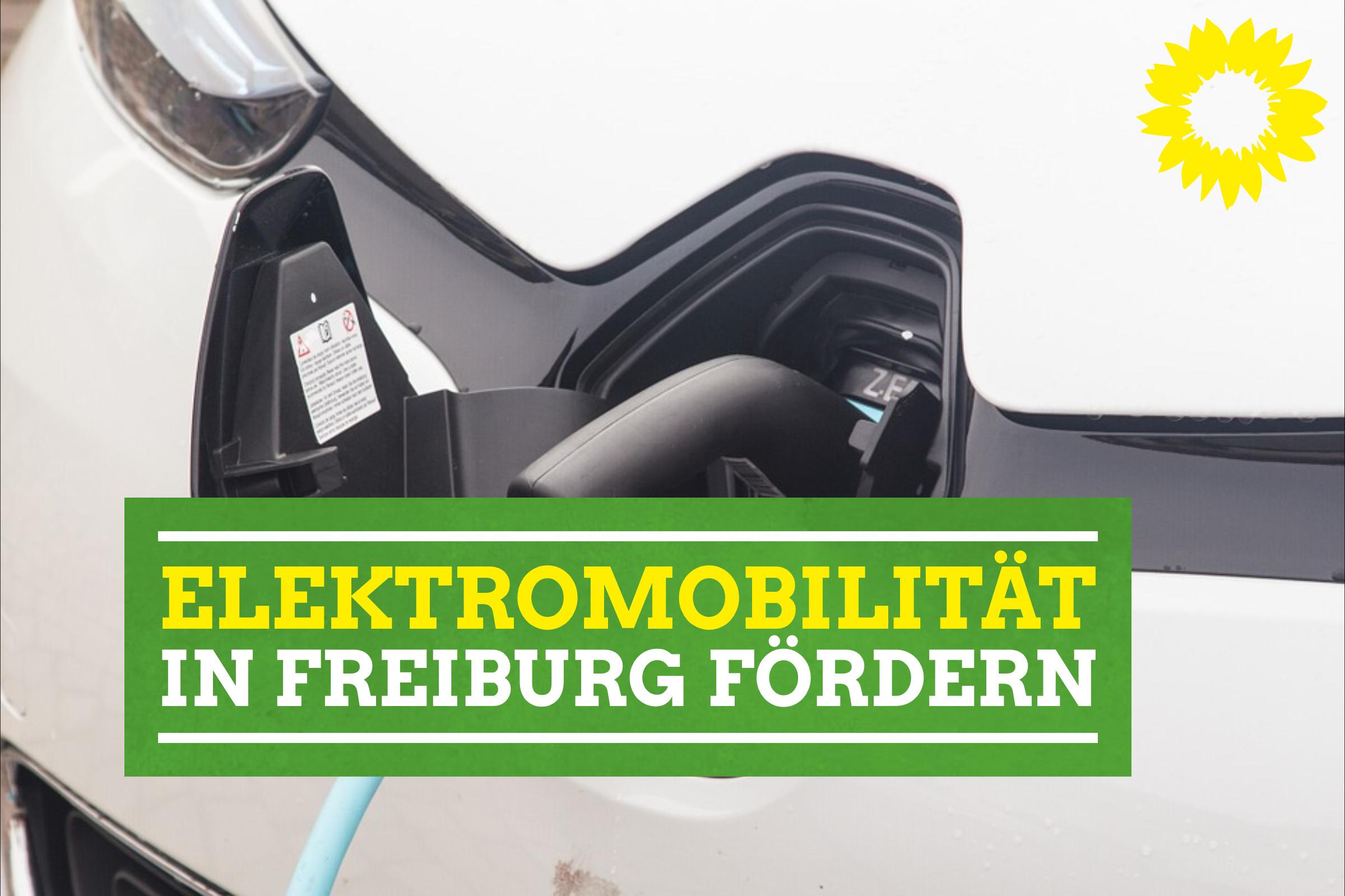 Elektromobilitätskonzept für Freiburg kommt