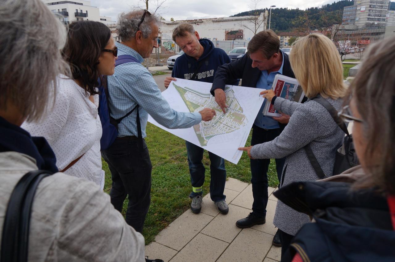 Grüne Fraktion besuchte Güterbahngelände/Brühl-Beurbarung