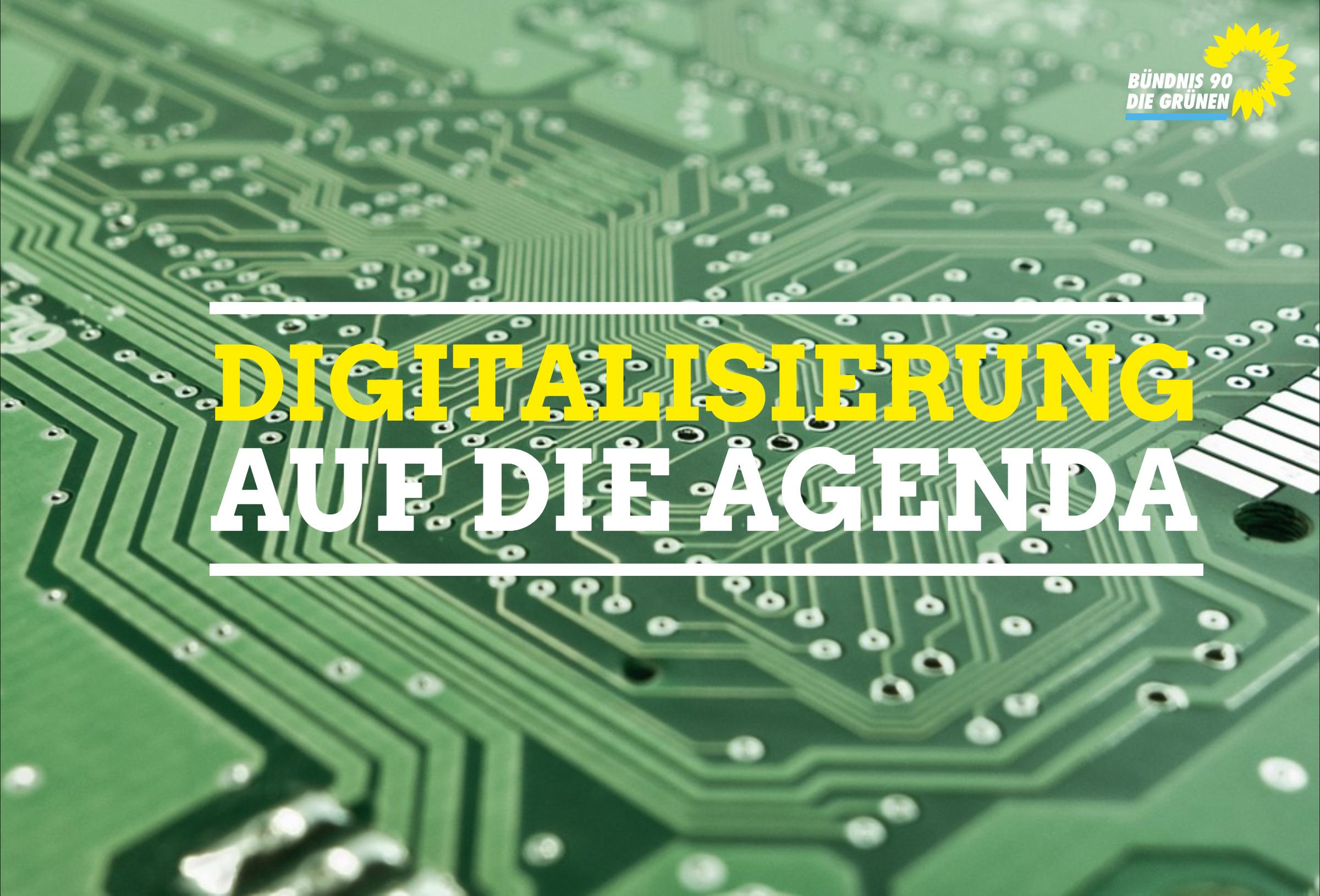 """""""Digitalisierung muss immer in enger Abstimmung mit der Bürgerschaft und uns als gewählter Vertretung dieser Bürgerschaft erfolgen!"""""""