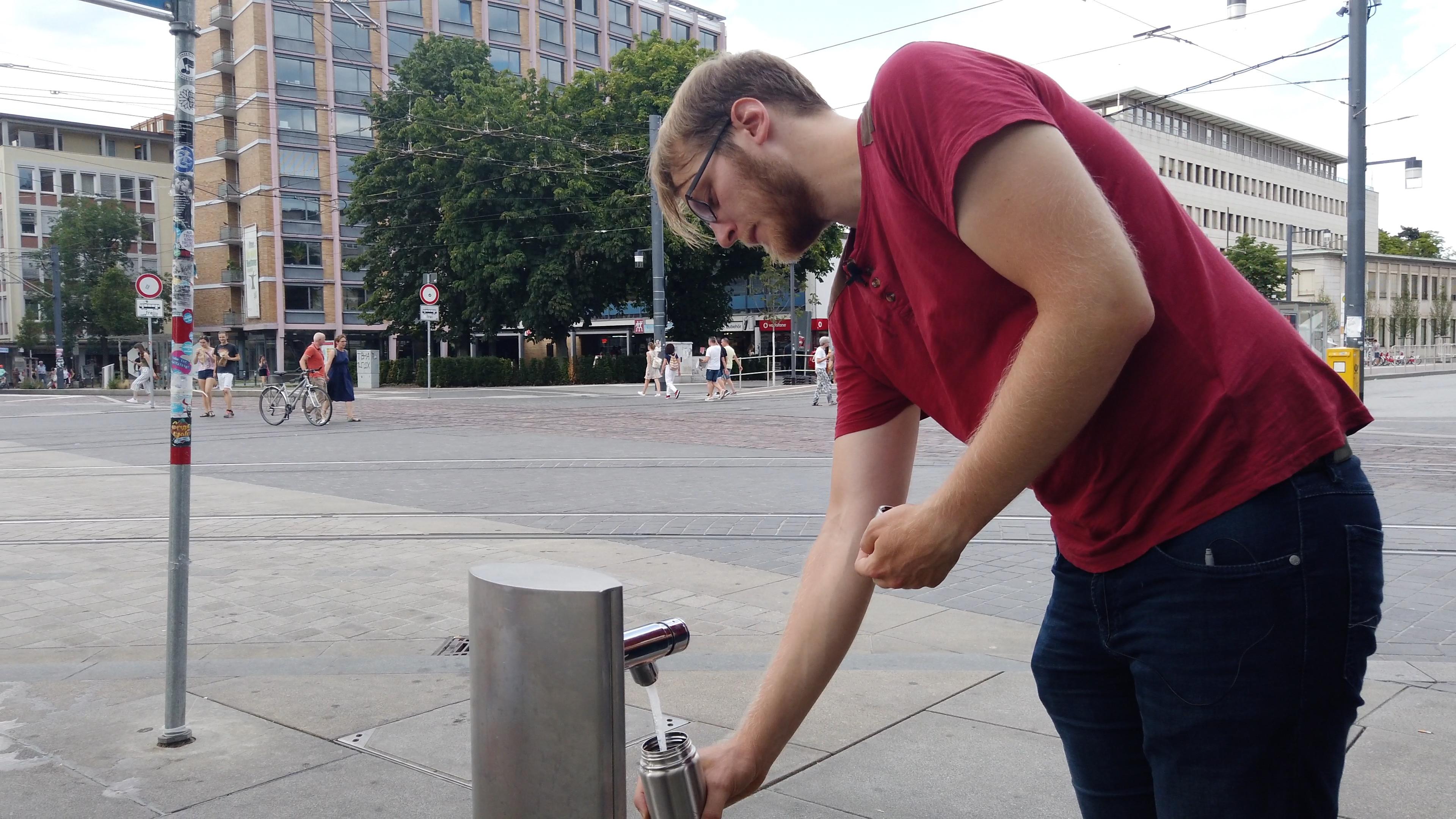 Mehr öffentliche Trinkwasserstellen!
