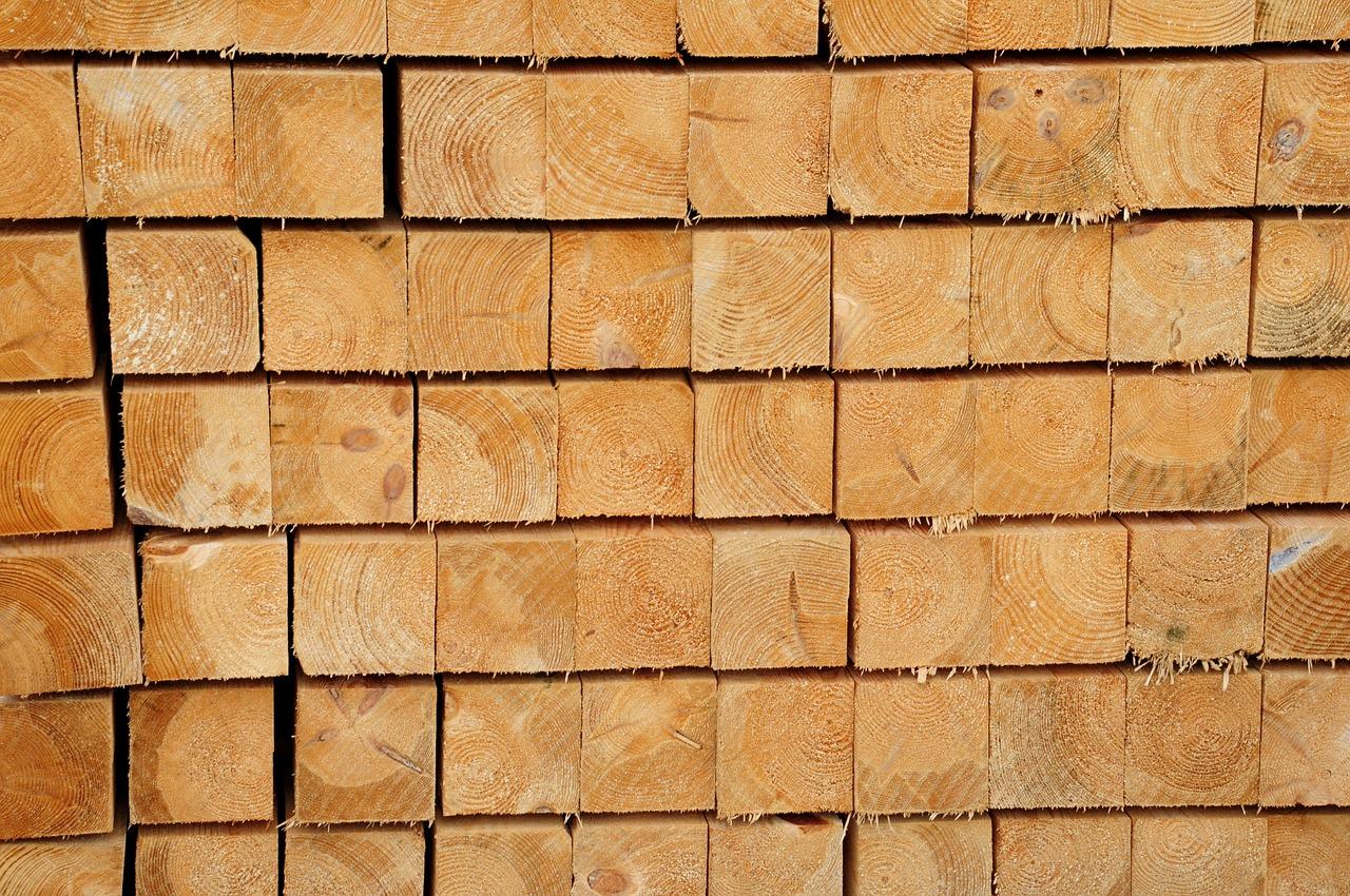 Zertifiziertes Holz verwenden!