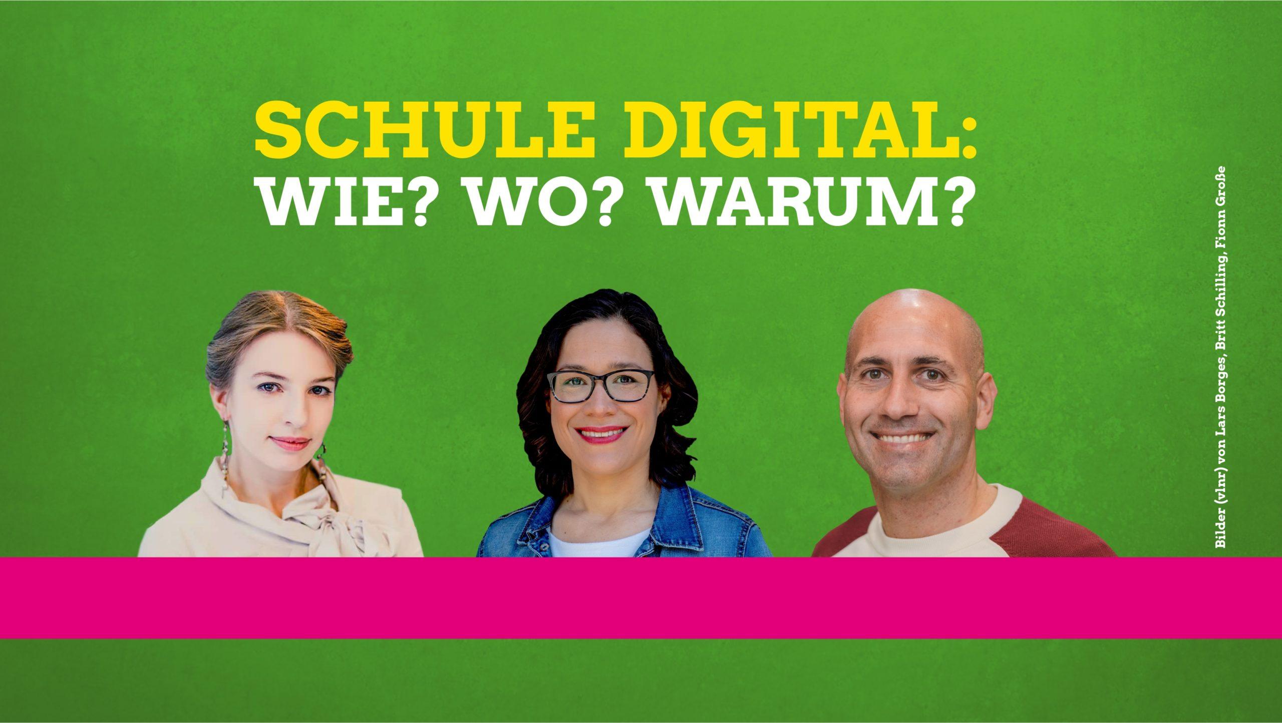 Digitale Schule: Es braucht einen Wandel!