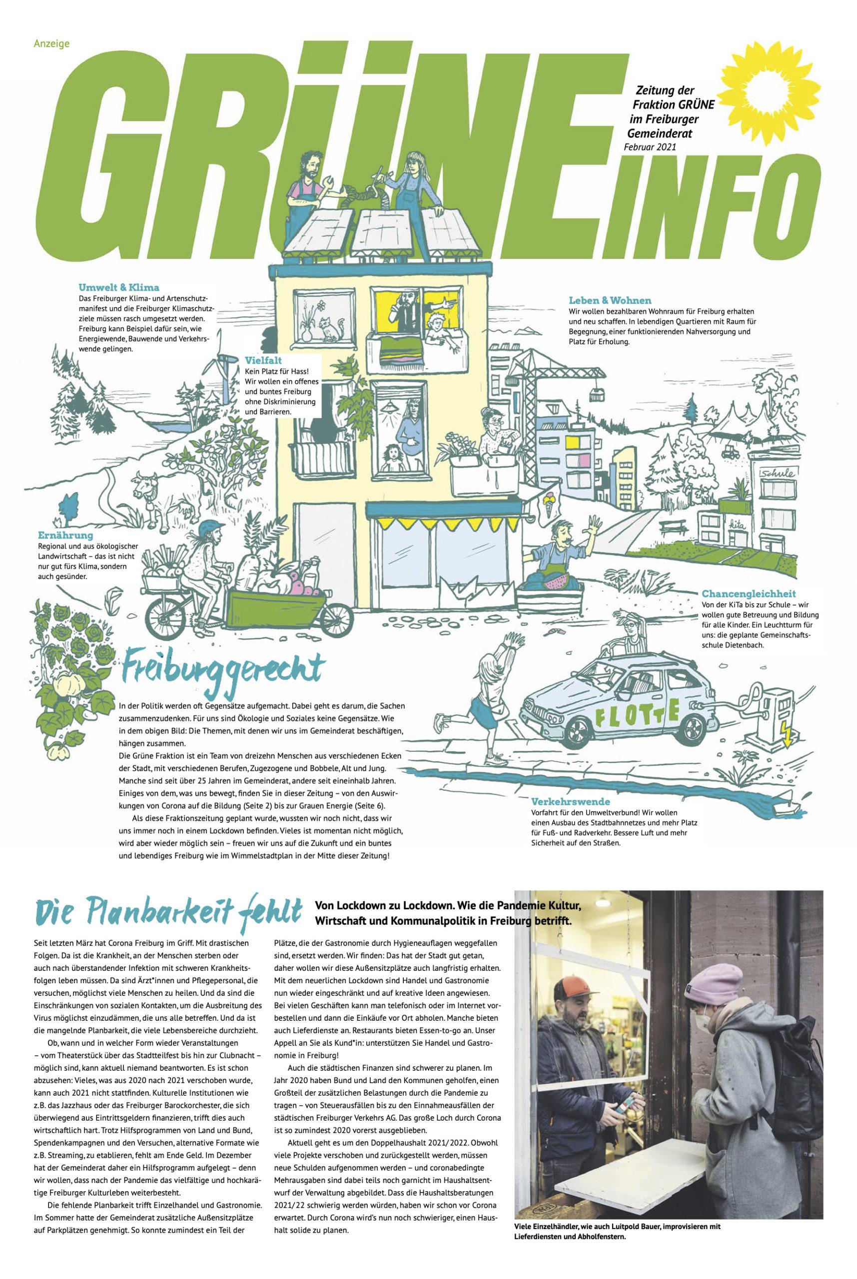 Die Grüne Fraktionszeitung