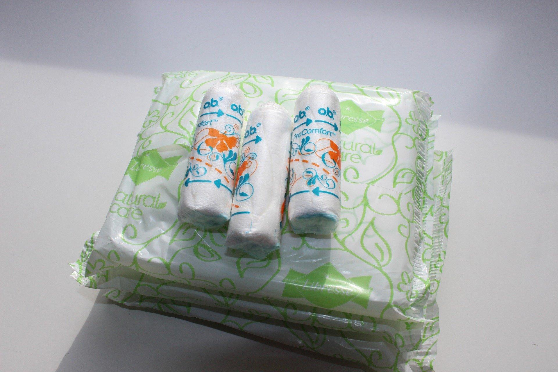 Kostenlose Menstruationsprodukte